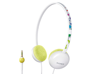 Sony MDR-370LP Overhead Band Stereo Headphones (White)