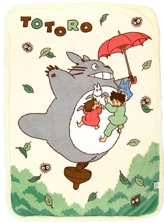 My Neighbor Totoro - Half Blanket  (Walk in the Sky)