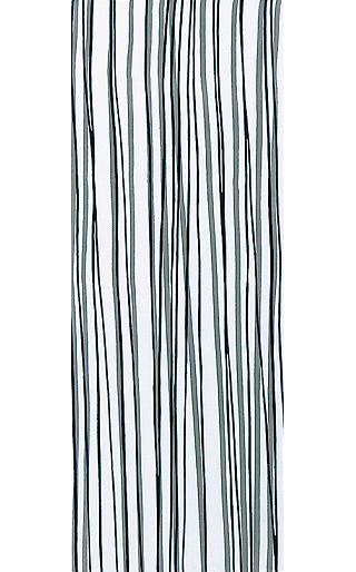 Wild Stripes - Tenugui (Japanese Multipurpose Hand Towel) - Black