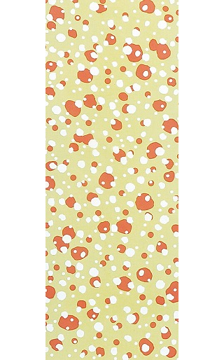 Winter Scenes - Tenugui (Japanese Multipurpose Hand Towel) - Orange