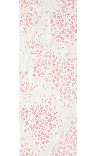 Spring Sakura - Mini Tenugui (Japanese Multipurpose Hand Towel)