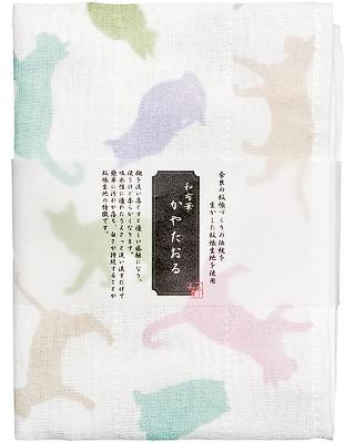 Kaya (Net Fabric) Towel  - Cats