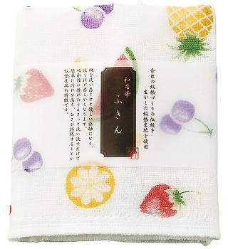 Kaya (Net Fabric) Dish Towel  - Fruits