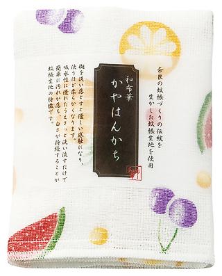 Kaya (Net Fabric) Handkerchief  - Fruits