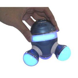 BurrrRela Relaxing Massager with Glowing Lights (Blue)
