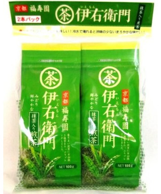 Iemon Sencha Green Tea With Matcha 2 X 100g Best Buy Japanese