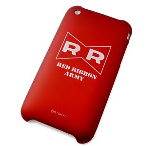 iPhone 3G/3GS Shell Jacket Dragonball Z Kai Red Ribbon Army