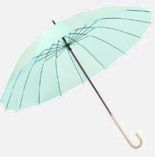 mabu - Ultralight 16 Rib Umbrella Irodori (Emerald)