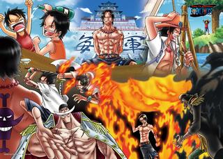 "One Piece - ""Fire Fist"" Ace 500 Piece Jigsaw Puzzle"