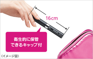 Panasonic - Pocket DOLTZ Sonic Tooth Brush EW-DS11-VP (Vivid Pink/Limited Edition Color)