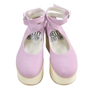 BELLY BUTTON No.922 / Pink Platforms