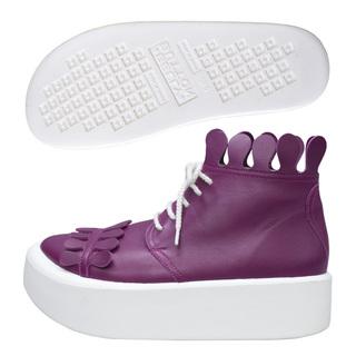 BELLY BUTTON No.888 / Purple smooth Milk-crown
