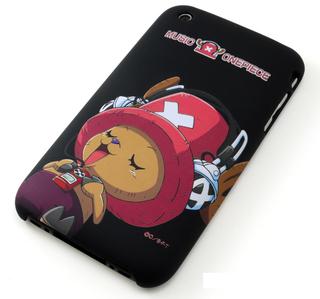 iPhone 3G/3GS Shell Jacket One Piece TonyTony Chopper (Black)
