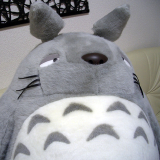Super-Size Totoro Plush - from My Neighbor Totoro - Best Buy ... a9ec2a3a2da4
