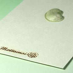MOTTAINAI Relief Art Card - S (Beans) W07009