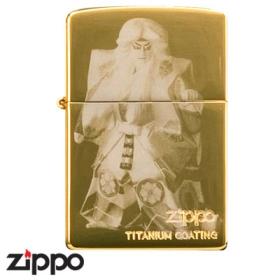 Zippo - Kabuki - Gold Titanium KL8