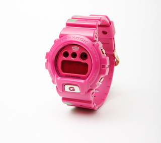 Casio, G-SHOCK, DW-6900, PEGLEG, NYC, Water Melon