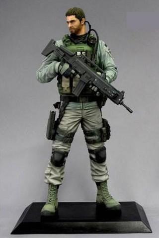 Capcom CFB Creator's Model Resident Evil 6 Chris Redfield Complete Figure