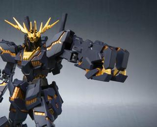 Bandai Robot Spirits Mobile Suit Gundam Unicorn Banshee Destroy Mode Action Figure