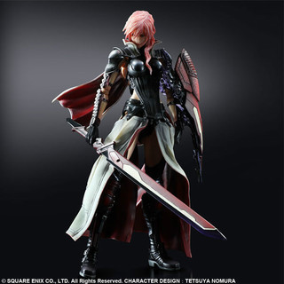 Square Enix, Lightning Returns, Final Fantasy XIII, Play Arts, Kai, Lightning, Acution Figur