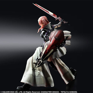 Square Enix Lightning Returns Final Fantasy XIII Play Arts Kai Lightning Acution Figure