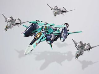 Bandai, Chogokin, RVF-25, Messiah, Valkyrie, Luca Angelloni, anime, japan