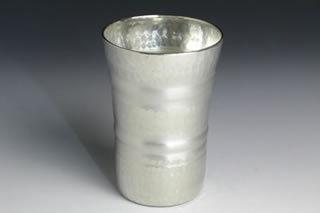 Traditional Handmade Metal Cup (Medium White)