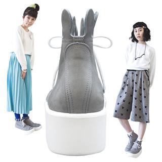 TOKYO BOPPER No.888 / Gray nubuck Milk-crown