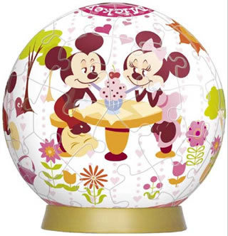Mickey's Holiday 60P 3D Puzzle