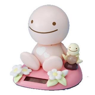 Spiritual stone Sunshine Buddy with rose quartz to inspire love