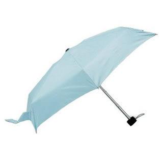 Totes Tiny Folding Umbrella (Sky Blue L/BL 21235)