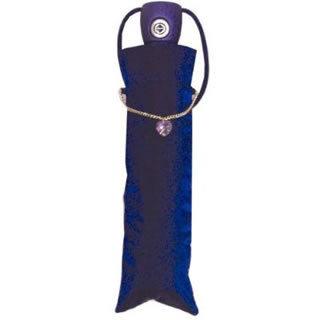 Totes Signature Swarovsky Crystal Folding Umbrella (Passion Blue)