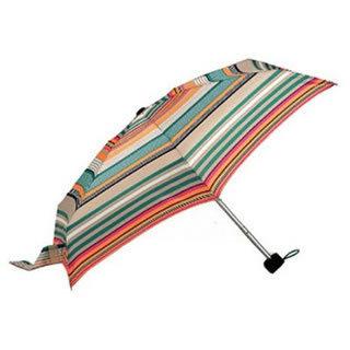 Totes Tiny Folding Umbrella (Orange Black GN/OG/BK 21239)