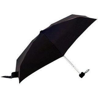 Totes Men's Tiny Folding Umbrella with Reflector Stripe