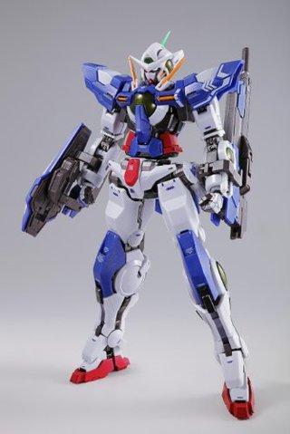 Bandai Metal Build Chogokin Gundam 00 Exia + Exia Repair REIII ACTION FIGURE