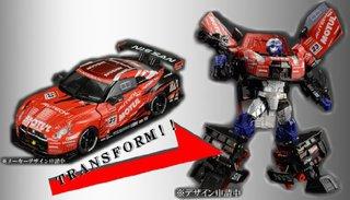 Takara Tomy Transformers GT GT-01 GT-R Optimus Prime (w/Race Queen) Action Figure