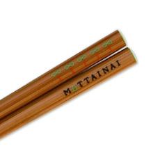 MOTTAINAI Carry-Anywhere HASHI Chopsticks (3R + R) D08018