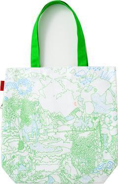 MOTTAINAI THANKS TOTE BAG: Yorifuji Bunpei Design L07006
