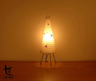 Maple Leaf Conic Lamp