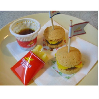 Kracie Happy Kitchen Hamburger, 5pcs.