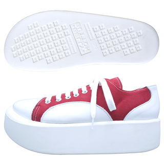 TOKYO BOPPER No.874 /  White & Red shoes