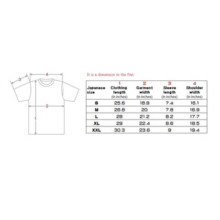 Your name in Kanji printed an a T-shirts. Men's (Red)