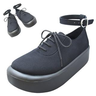 TOKYO BOPPER No.870 / Black R Plain Shoes