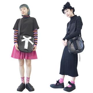 TOKYO BOPPER No.11190/Black Milkcrown Pochette