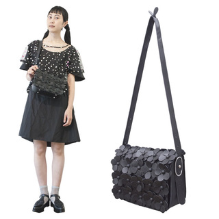 TOKYO BOPPER No.11161/Black Flower Pochette