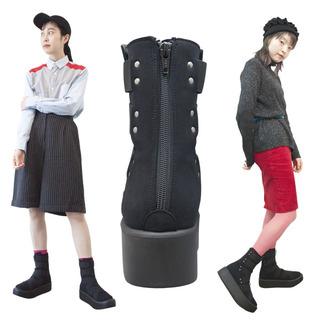 TOKYO BOPPER No.893 /  Black R Mid-boots