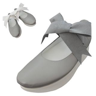 TOKYO BOPPER No.500 / Gray Ribbon shoes