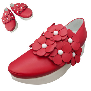 TOKYO BOPPER No.503 / Red Flowers shoes