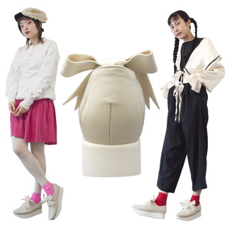 TOKYO BOPPER No.504 / Ivory Ribbon shoes