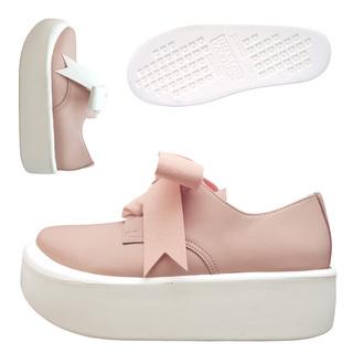 TOKYO BOPPER No.875 /  Pink smooth ribbon shoes